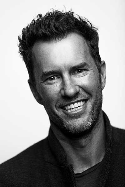 Blake Mycoskie, the founder of TOMS